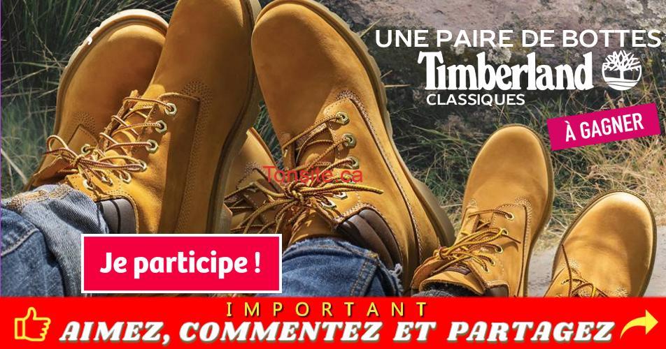 globo timberland concours - Concours Globo: Gagnez une paire de bottes Timberland classiques