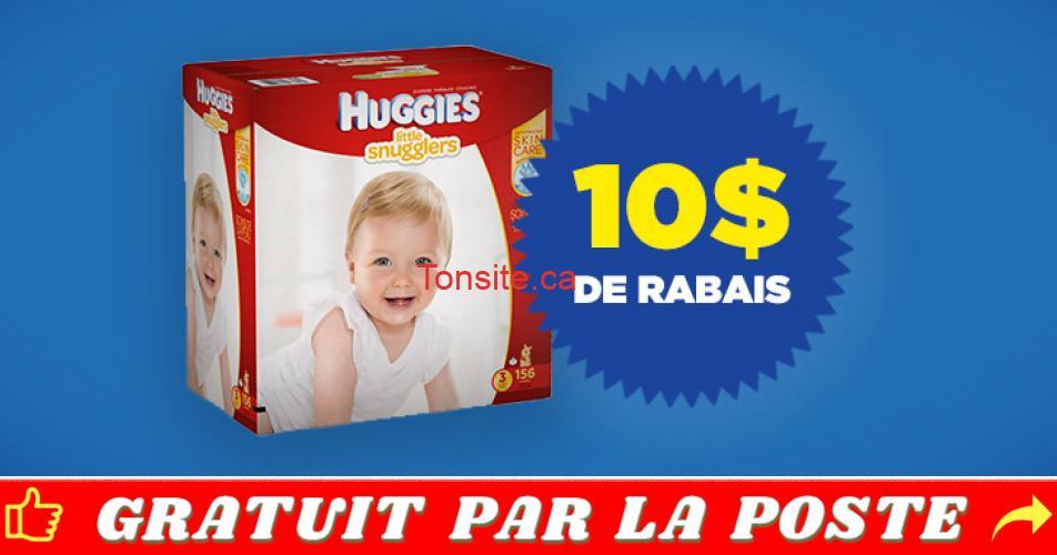 huggies coupon 10 - Coupon rabais de 10 sur un emballage Huggies Little Snugglers ou Huggies Little Movers Club Pack Plus ou Huggies Snug & Dry Club Pack Plus