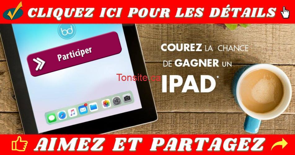 ipad concours2 - Participez et courez la chance de gagner un iPad