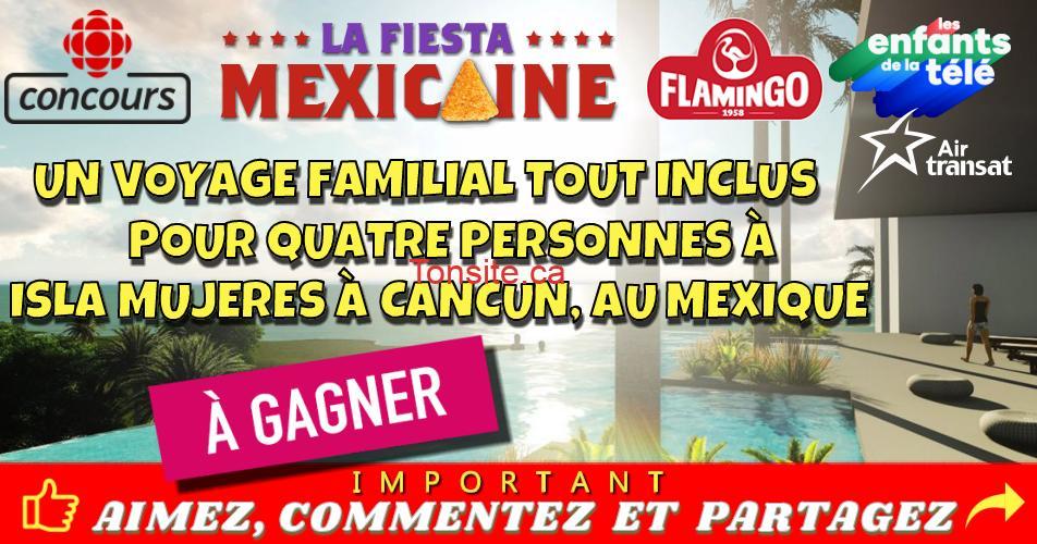 isla mujeres concours - Participez et gagnez un voyage familial tout inclus pour 4 personnes à Isla Mujeres à Cancun, au Mexique