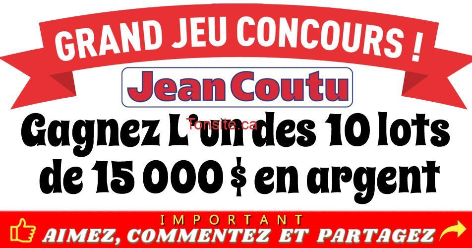 jean coutu concours7 - Concours Jean Coutu: Gagnez 1 des 15 lots de 15 000$ en argent!