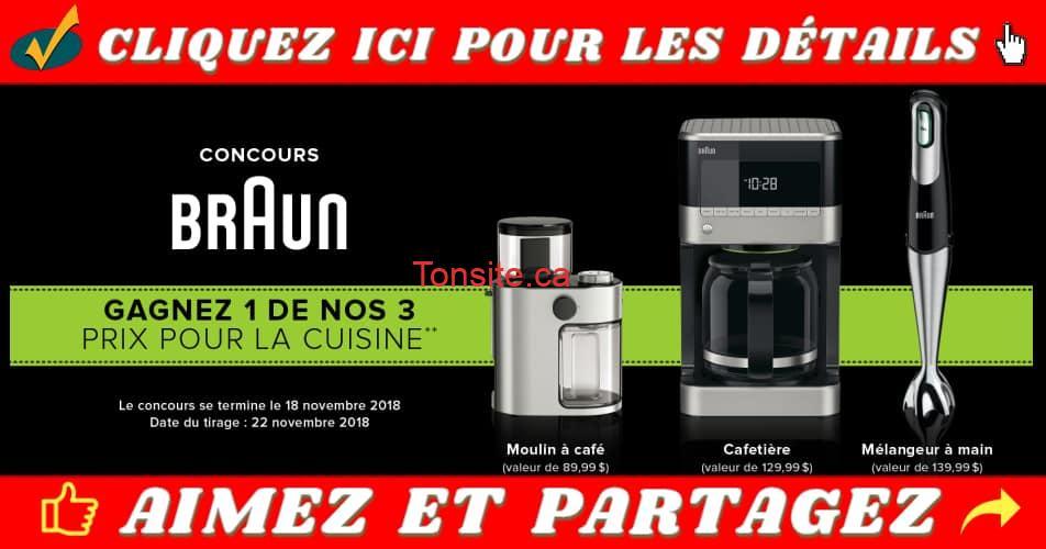 linen chest concours5 - Gagnez un des 3 appareils électrique de marque Braun!