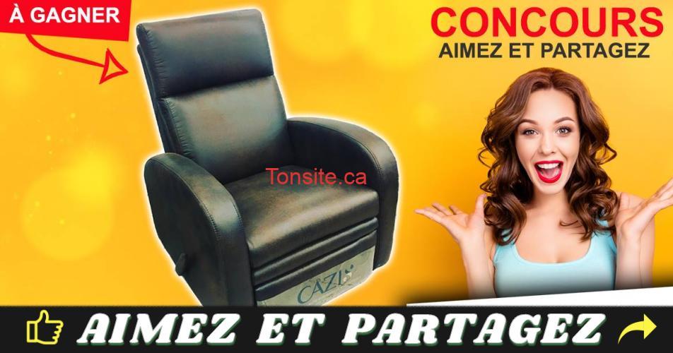 mega liquidation concours - Participez et gagnez une chaise d'une valeur de 500$