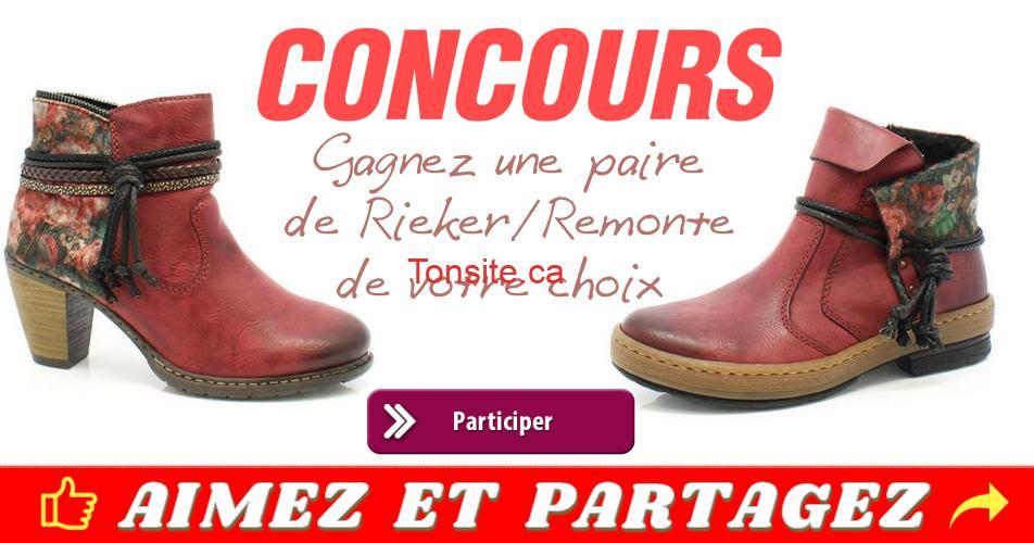 rieker concours - Gagnez une paire de Rieker/Remonte de votre choix !!!