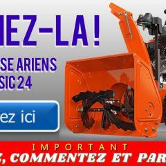 souffleuse ariens concours 240x240 - Participez et gagnez une souffleuse Ariens Classic 24