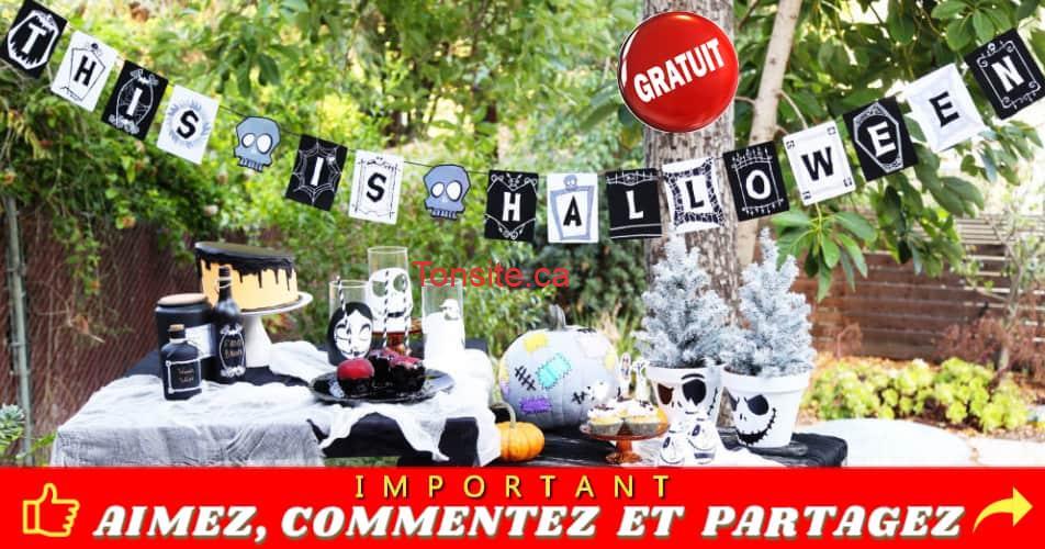 """this is halloween banniere - Obtenez une bannière Disney """"This Is Halloween"""" GRATUITE"""