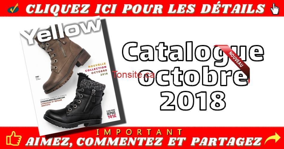 yellow catalogue octobre - Chaussures Yellow: Nouveau catalogue octobre 2018