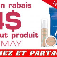 almay coupon 4 240x240 - Coupon rabais de 4$ sur tout produit Almay