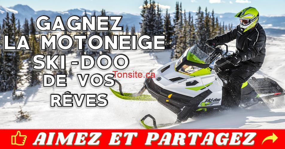 bombardier concours - Concours Bombardier: Gagnez une motoneige Ski-Doo de vos rêves