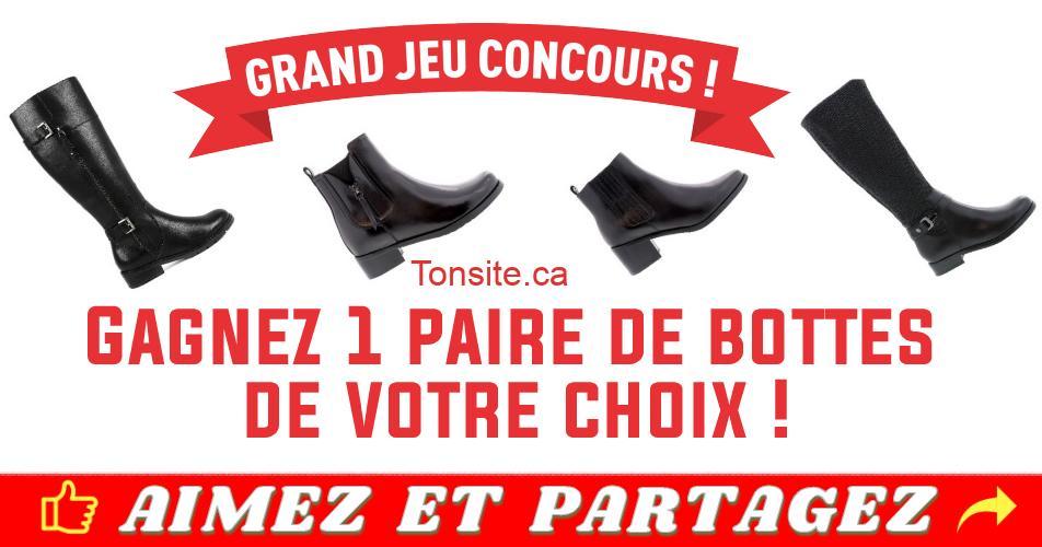 bottes concours - Gagnez une paire de bottes BLONDO (collection Automne-Hiver 2018)