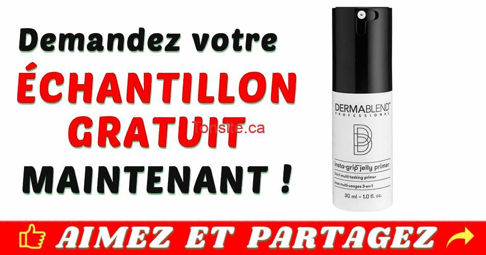 dermablend echantillon - Obtenez un échantillon gratuit de base de maquillage en gelée insta-grip de Dermablend
