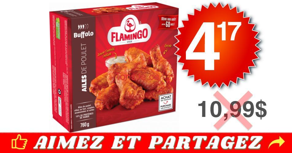 flamingo 417 1099 - Produits de poulet surgelés Flamingo à 4,17$ au lieu de 10,99$