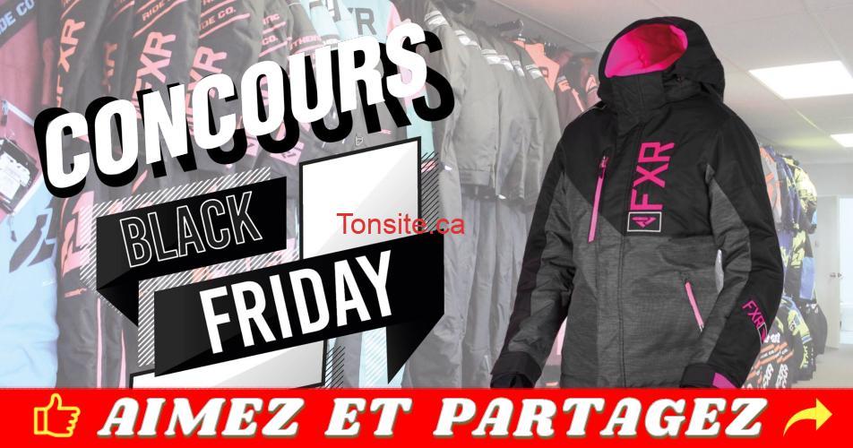 harricana concours - Gagnez un manteau FXR de votre choix