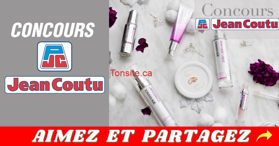 jc concours2 - Concours Jean Coutu: Gagnez un panier rempli de produits Jouviance (valeur de 360$)