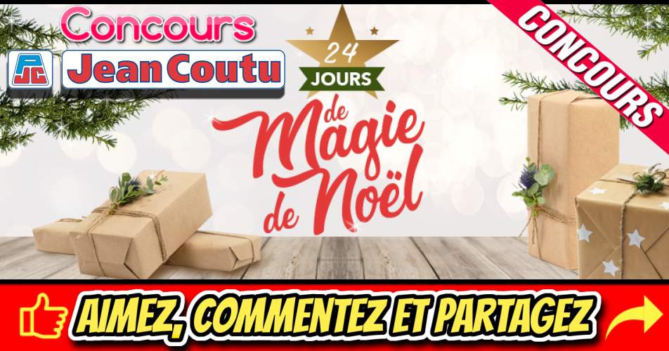 jc magie des fetes concours - Calendrier de l'avent de Jean Coutu : UN CADEAU PAR JOUR pendant 24 jours!