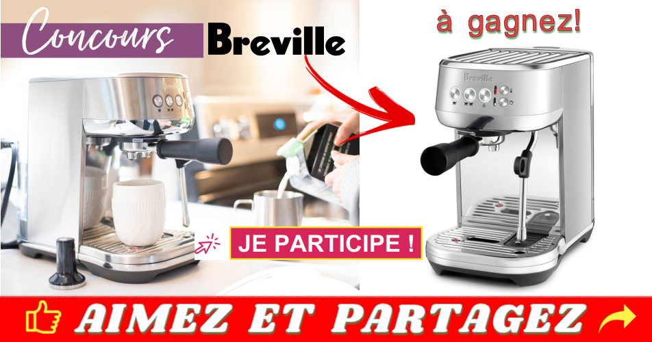 jesuismaman breville concours - Gagnez la toute nouvelle cafetière Breville Bambino Plus (valeur de 699$)