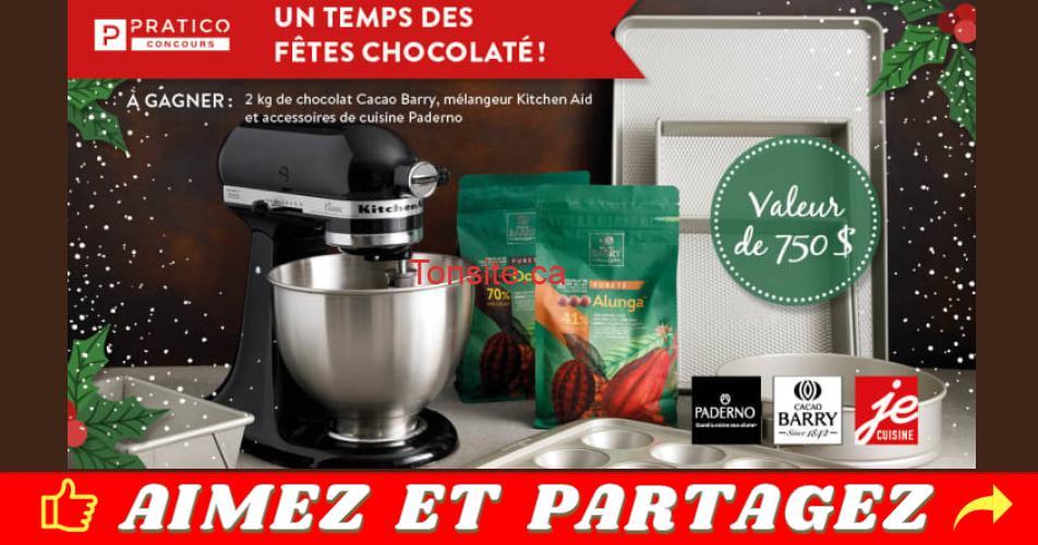 kitchenaid noel concours - Gagnez un mélangeur sur socle Kitchen Aid et des accessoires de cuisine