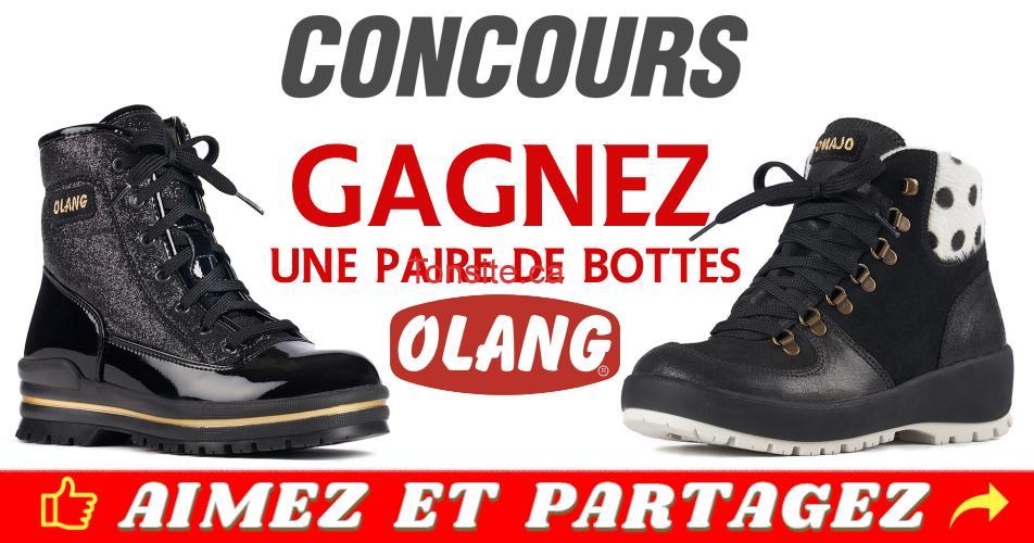 olang concours 1 - Gagnez une paire de bottes OLANG de la collection Automne-Hiver 2018