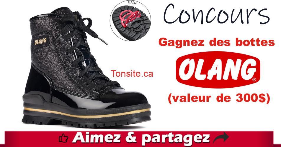 olang concours - Concours Bel Âge: Gagnez des bottes Olang (valeur de 300$)