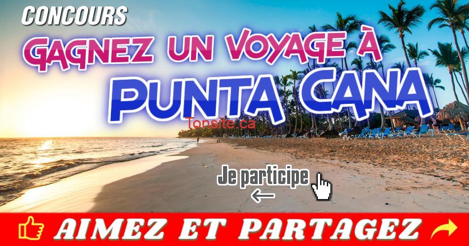 punta cana concours - Concours Air Transat: Gagnez un voyage familial à Punta Cana