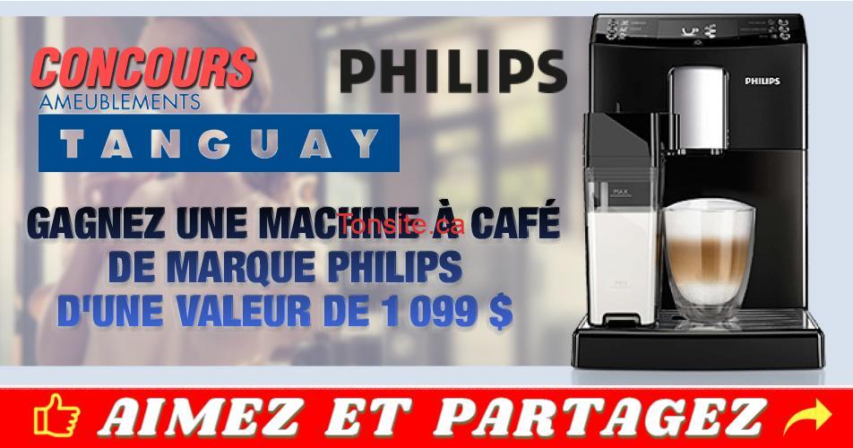 tanguay cafertiere - Concours Tanguay: Gagnez une machine à café Philips (valeur de 1099$)