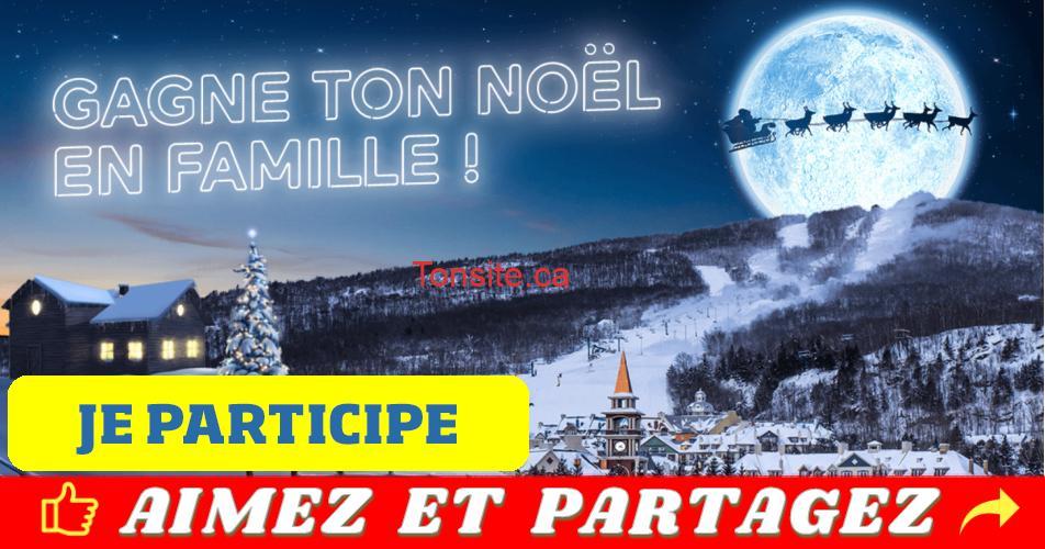 tramblant noel concours - Fête ton Noël en famille à TREMBLANT (valeur de 4000$)