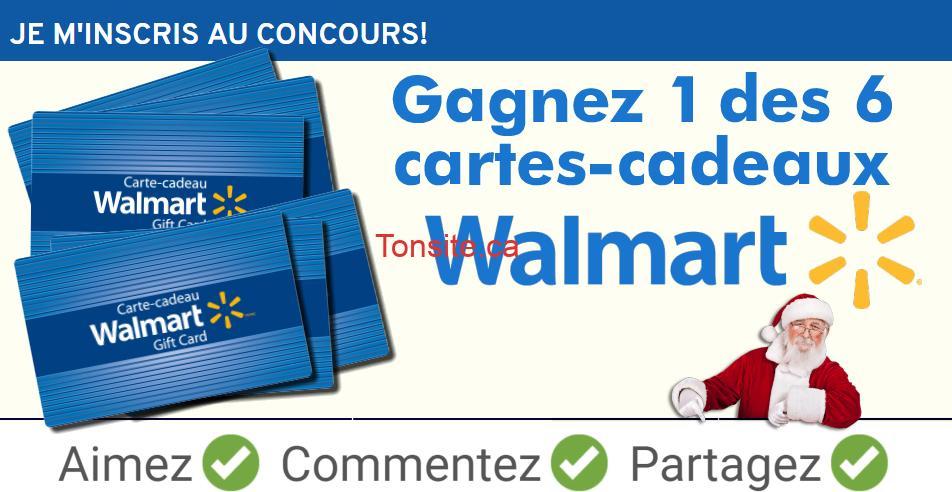 acces pharma concours fetes - Concours des fêtes chez Accès Pharma chez Walmart: 6 cartes-cadeaux Walmart à gagner !