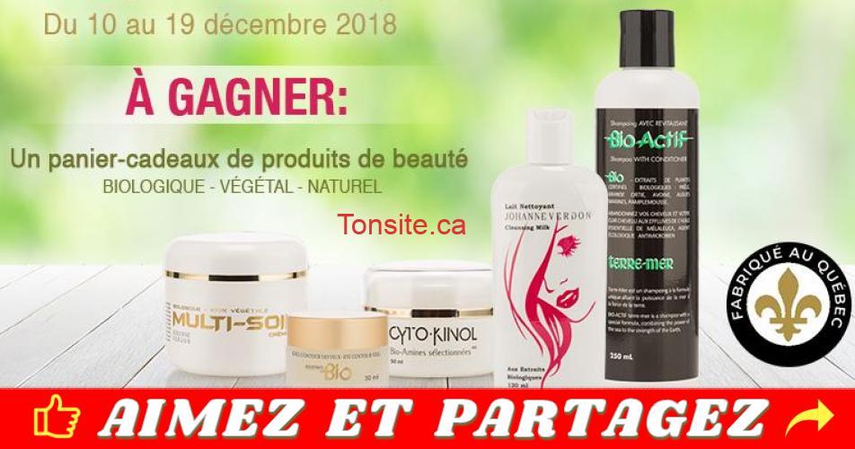 bel age concours - Gagnez un panier-cadeaux de produits de beauté Bio-Actif