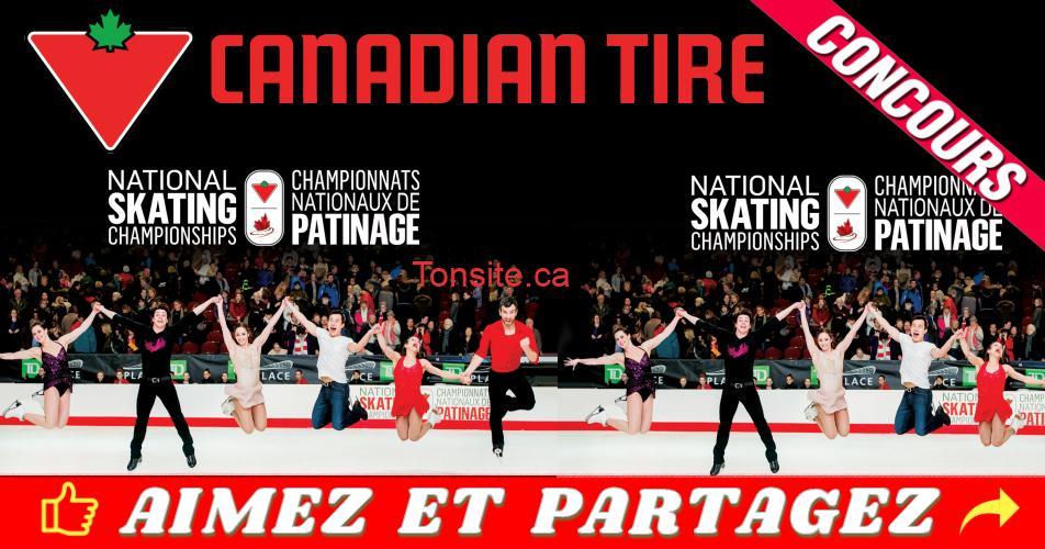 canadian tire concours1 - Concours Canadian Tire: Gagnez une expérience pour 2 aux Championnats nationaux de patinage Canadian Tire à Saint John