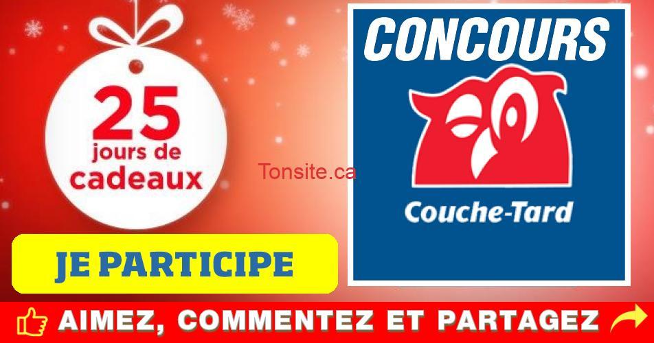 couche tard concours calendrier - Concours calendrier de l'avent Couche-Tard: 25 jours cadeaux!