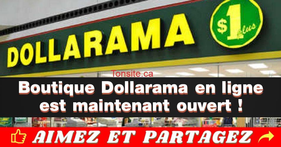 dollarama en ligne - Dollarama en ligne - maintenant ouvert
