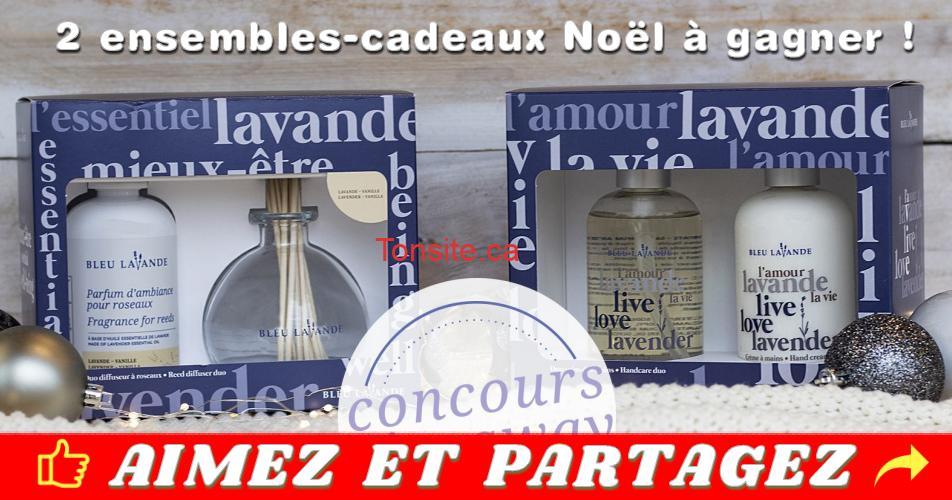 ensembles cadeaux noell concours - Concours Bleu Lavande: Gagnez 2 ensembles-cadeaux édition limitée Noël 2018