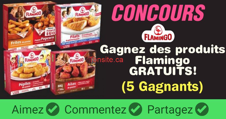 flamingo concours 1 - Concours Flamingo: Gagnez des coupons échangeables contre des produits Flamingo gratuits!