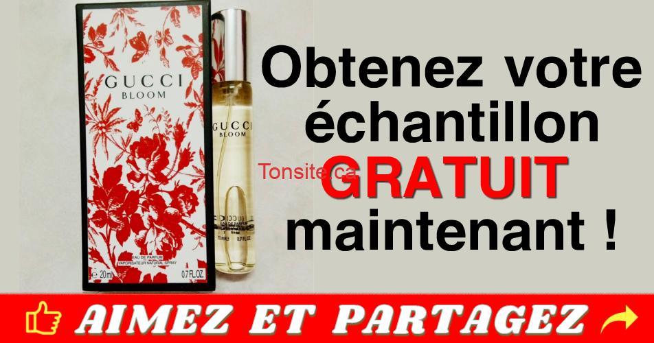 gucci bloom gratuit - Échantillon gratuit d'eau de parfum Gucci Bloom