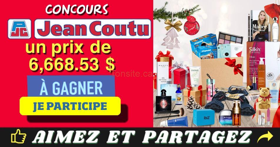 jean coutu concours2019 - Concours Jean Coutu: Gagnez un prix de 6668,53 $