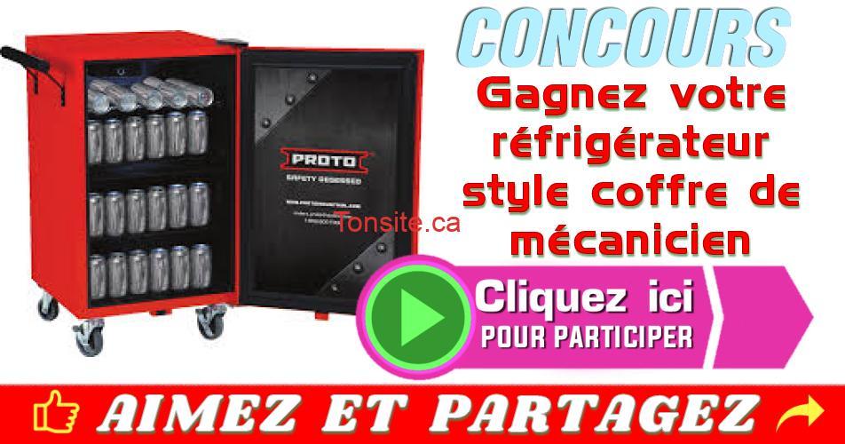 proto concours - Gagnez votre réfrigérateur style coffre de mécanicien
