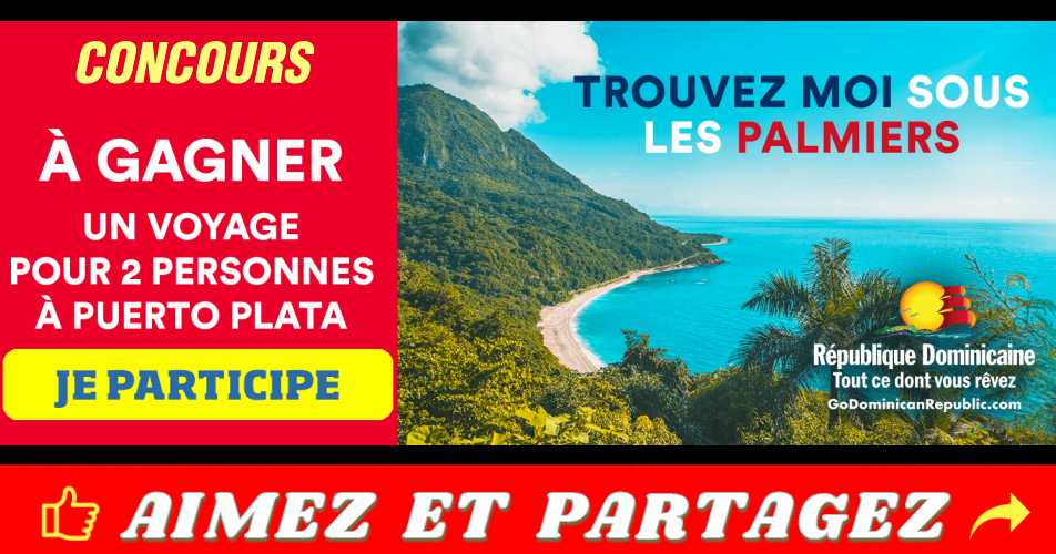puerto plata concours - Un voyage pour deux à Puerto Plata à gagner chaque semaine!