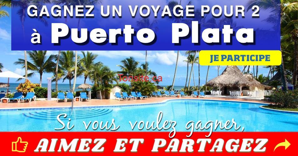 puerto plata concours4 - Gagner deux forfaits voyages en formule tout-compris pour découvrir Puerto Plata