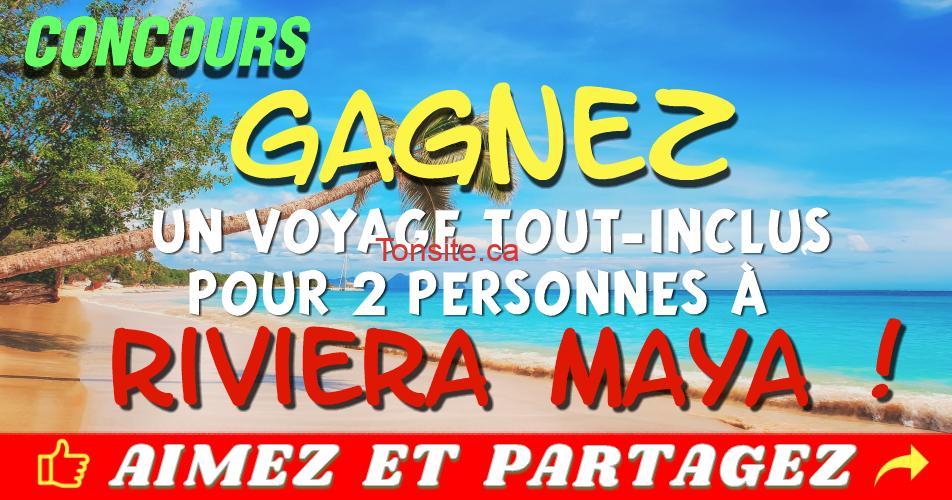 riviera maya concours3 - Participez et gagnez un voyage tout-inclus pour 2 personnes à Riviera Maya au Mexique!