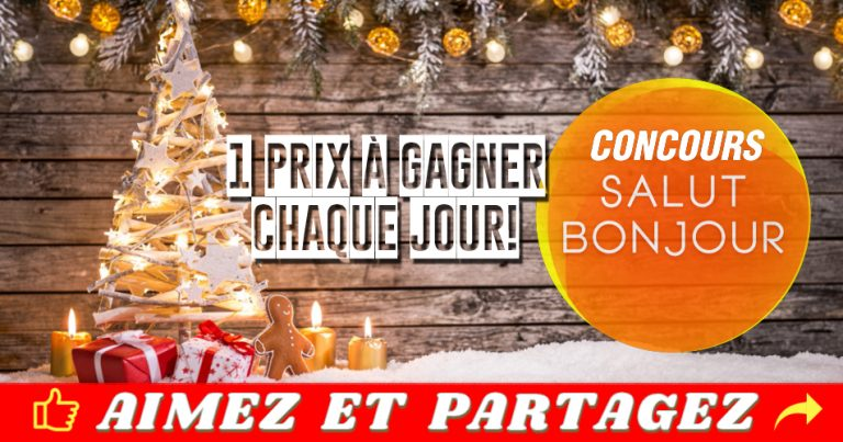 salutbonjour concours noel