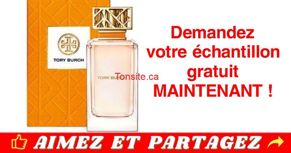 tory burch echantillon gratuit - Échantillon gratuit du nouveau parfm Tory Burch
