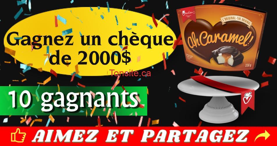 vachon concours - Concours Boulangerie Vachon: Gagnez un chèque de 2000$ (10 gagnants)