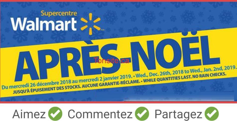 walmart boxing day - L'Après-Noël commence MAINTENANT en ligne!