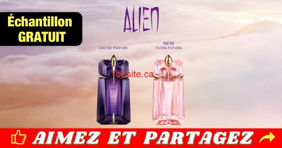 alien echantillon gratuit - Commandez un échantillon gratuit de la nouvelle eau de toilette alien Flora Futura et de l'eau de parfum alien