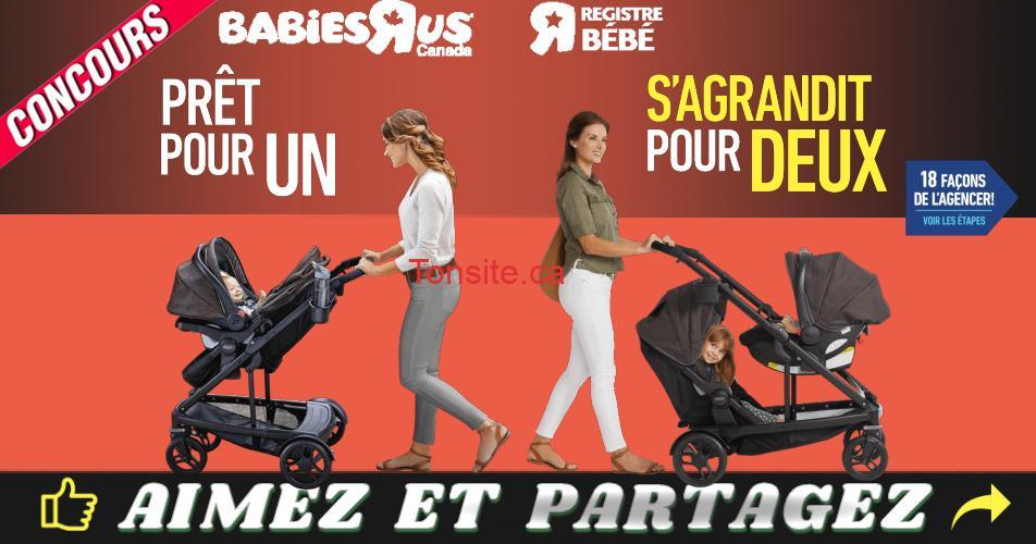 babiesrus concours - Gagnez 1 des 3 systèmes de voyage Uno2Duo de Graco et plus!