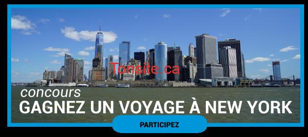 concoursnewyork630 - Participez pour gagner un voyage pour 2 personnes à New York