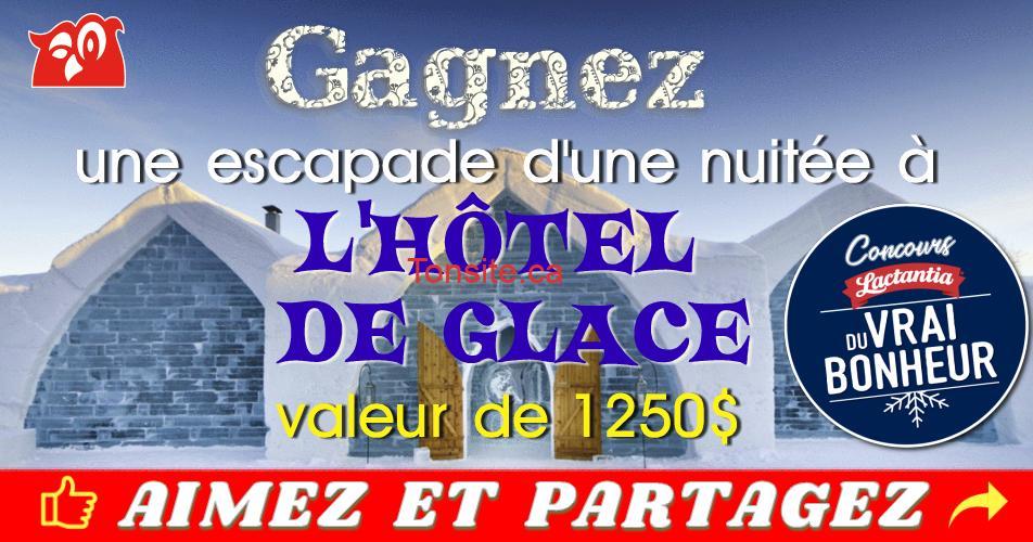 couche tard concours10 - Concours Couche-Tard: Gagnez une escapade d'une nuitée à l'hôtel de glace (valeur de 1250$)