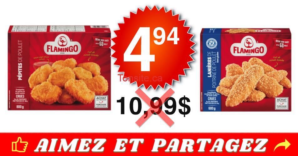 flamingo 494 1099 off - Emballage de portions de poulet panées Flamingo à 4,94$ au lieu de 10,99$