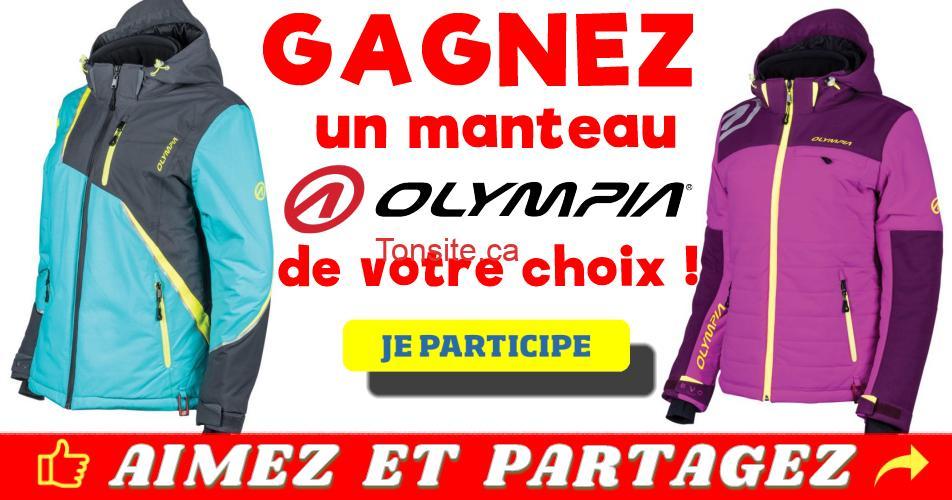 olympia manteau concours - Gagnez un manteau Olympia de votre choix !