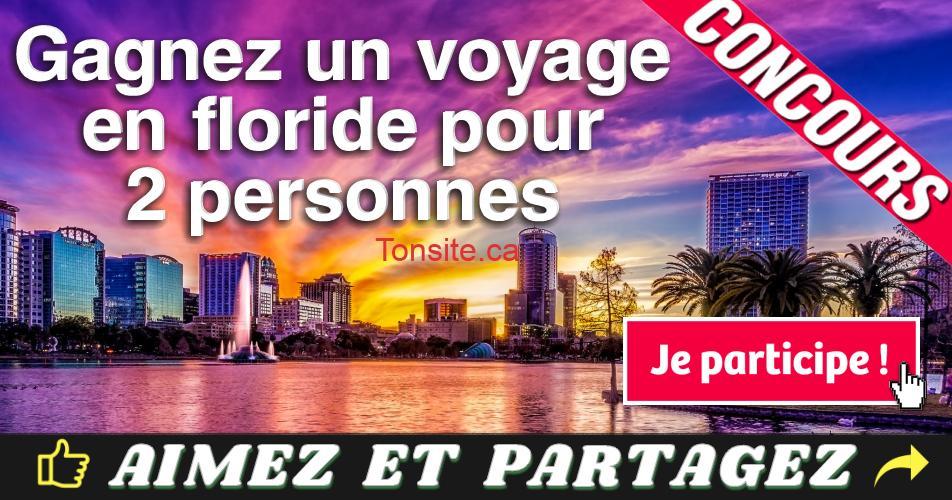 orlando concours - Gagnez un séjour de 5 jours pour deux personnes à Orlando en Floride